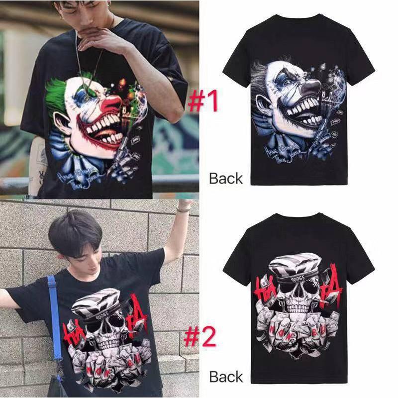 WX 7design COD Fashion Unisex T-shirt Cotton