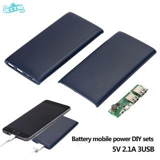 GRA Battery Case Battery Holder DIY Durable 3X 18650 Battery