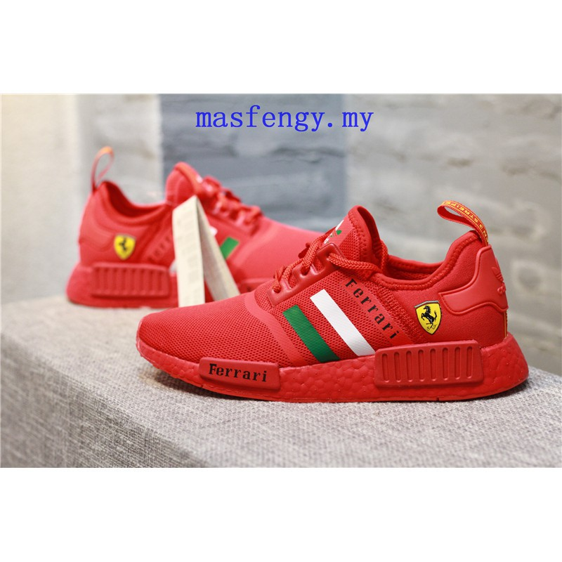 adidas nmd shoes red