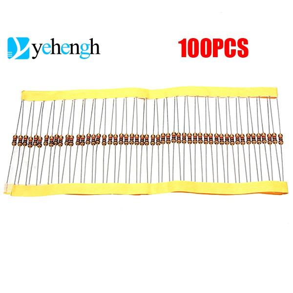 100PCS Resistors 1K Ohms OHM 1//4W 5/% Carbon Film NEW