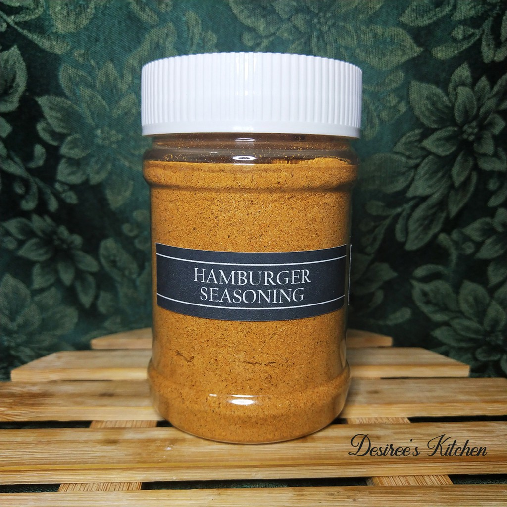 Hamburger Seasoning 170g In Stackable Canister Spices And Herbs Shopee Philippines