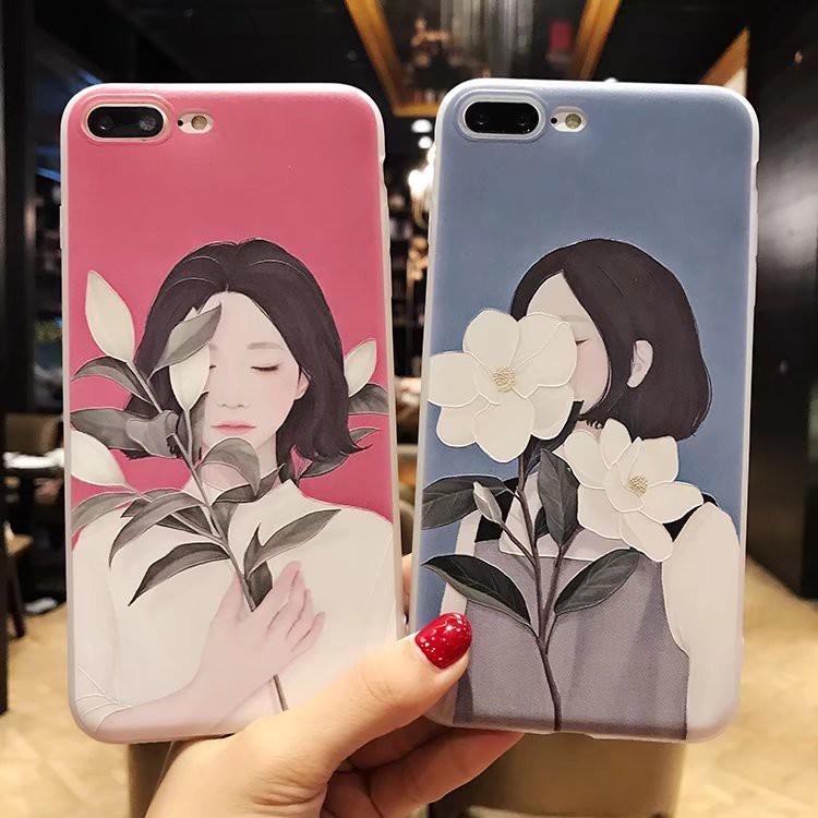 VIVO Y71 V7 Plus Y81 V9 Y91 V11 Cute Girl Soft Case GNC