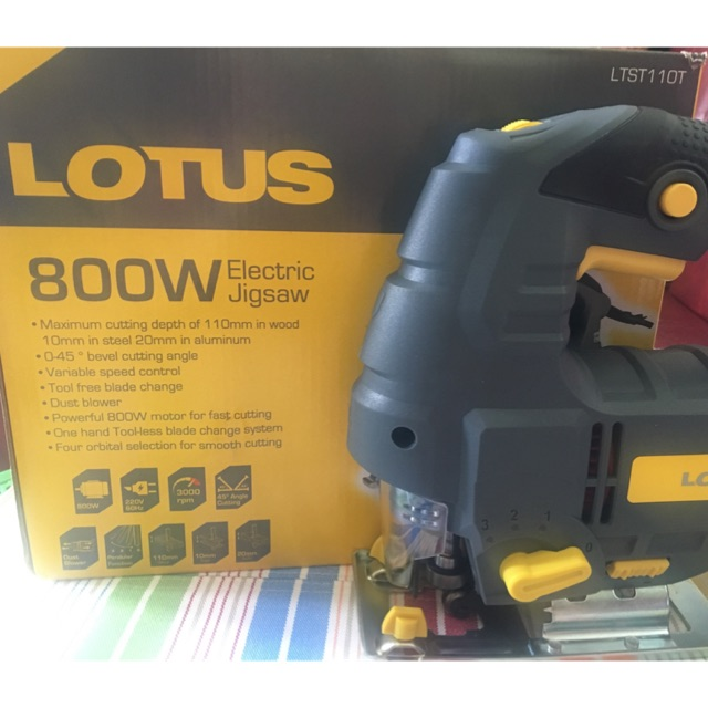 Lotus 800w Electric Jigsaw