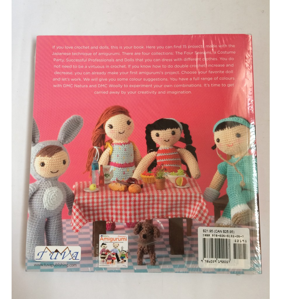 My Crochet Doll: Book Review! | Örme bebekler, Amigurumi, Bebek | 1024x1024