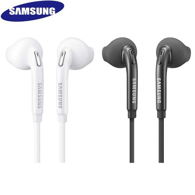 3.5mm wired earphone music Headset For Samsung S6 S7 S8 S9 Stereo Headphone
