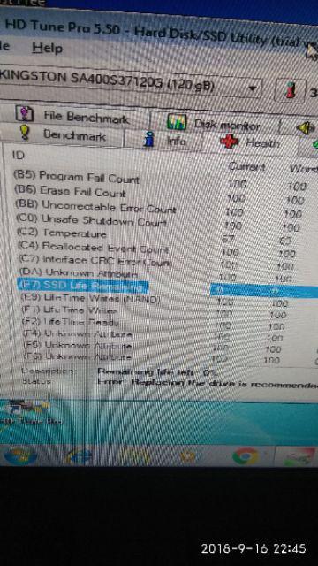 Kingston A400 120GB SSD 2 5