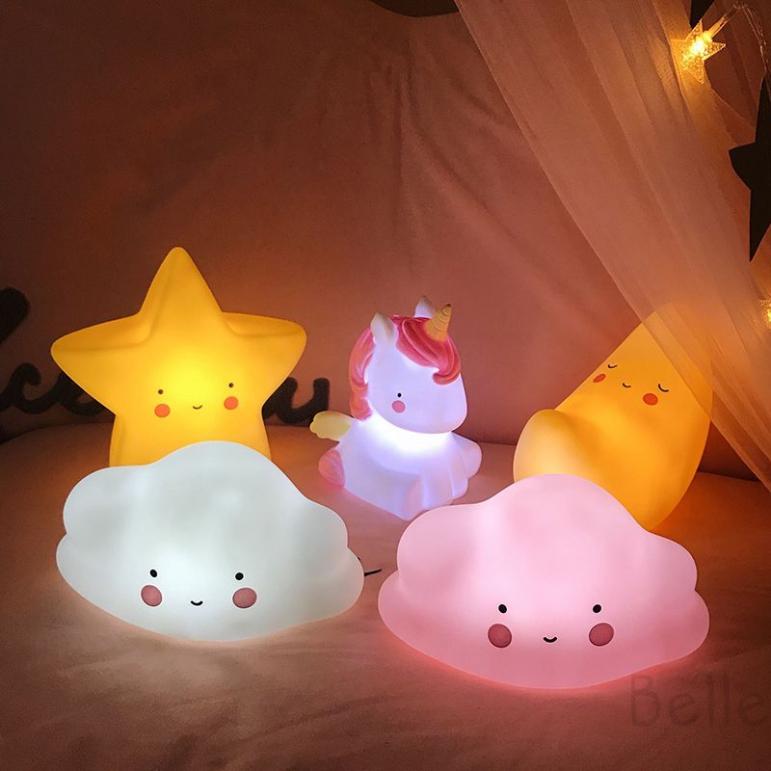 Lovely Led Night Light Table Kids Lamp