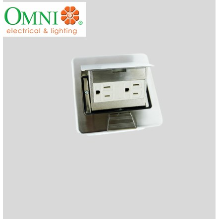 Omni Floor Mounted Outlet Square Type
