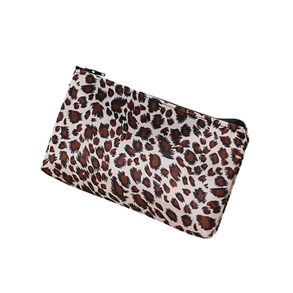 e6c8981694e6 Multifunction Leopard Travel Cosmetic Bag Makeup Pouch Toiletry Wash  Organizer