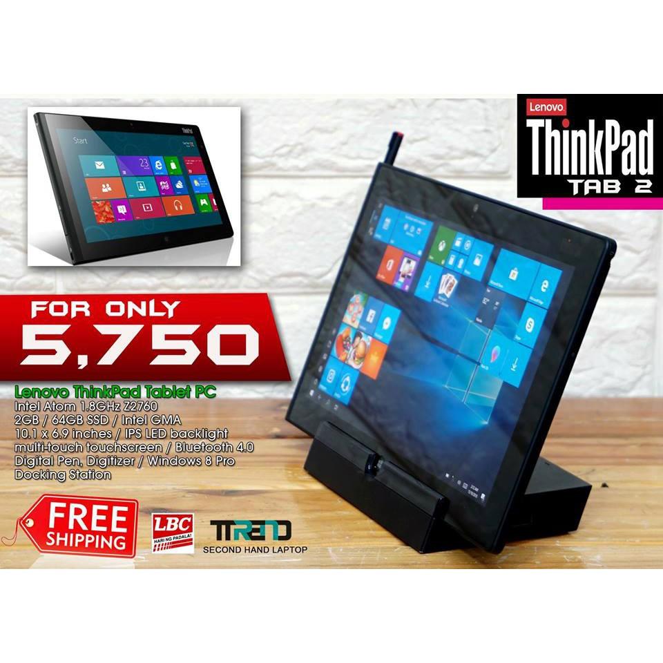 Lenovo ThinkPad Tab 2 TABLET