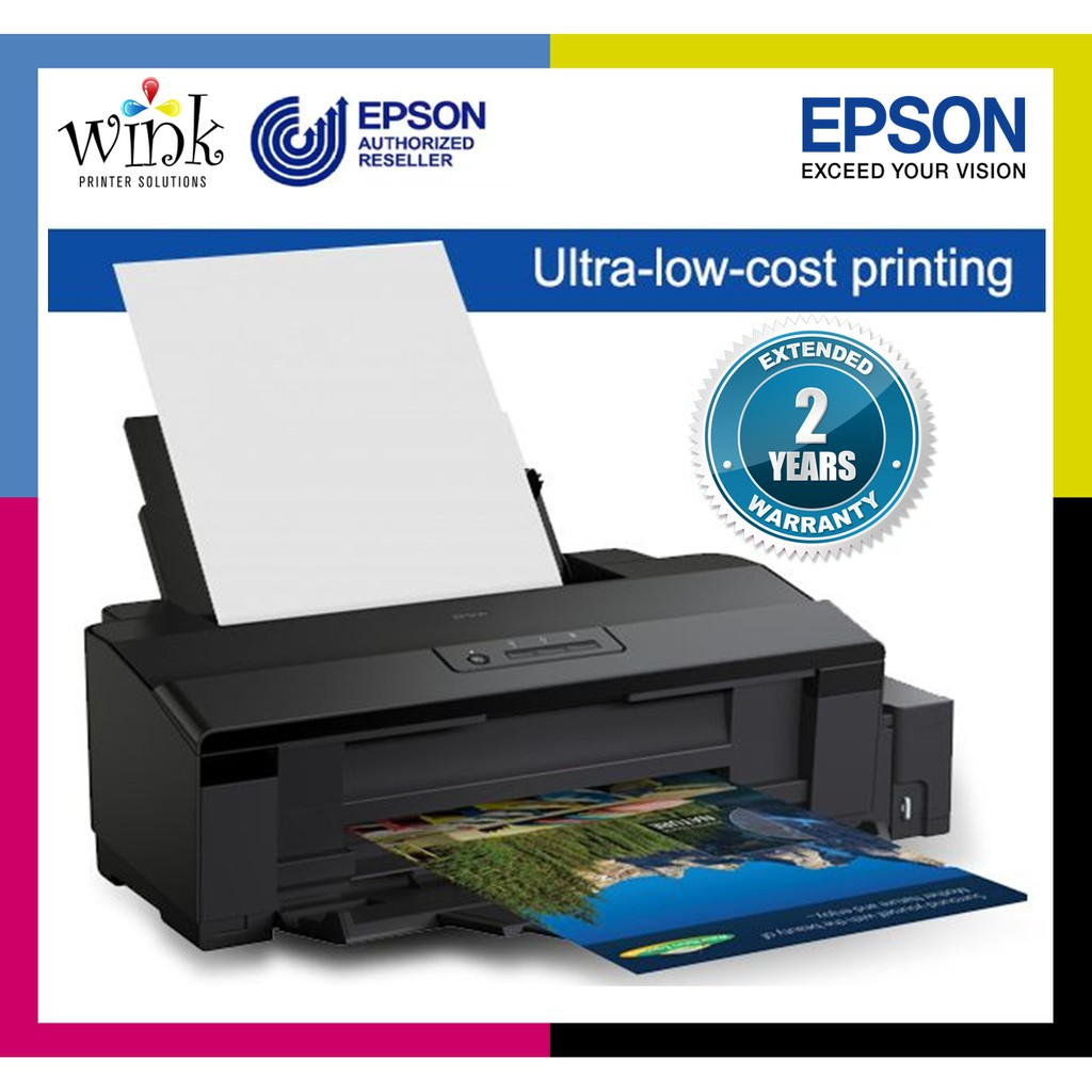 Epson L1800 A3 Photo Ink Tank Printer With 6 Colors Genuine Inks