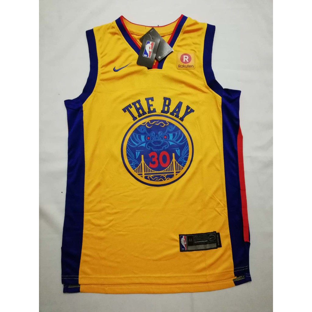 promo code bcbc0 de26c NBA 'The Bay' 30 Stephen Curry Nike Dri-FIT Swingman Jersey