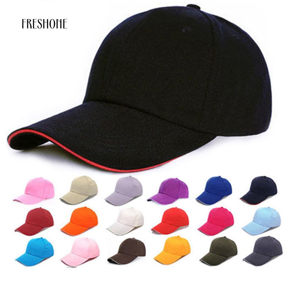 03232d2487783 COD!!!FreshoneFashion Mens Women Sports Baseball Cap Snapback Hat Hip-Hop  Adjustable Bboy Cap