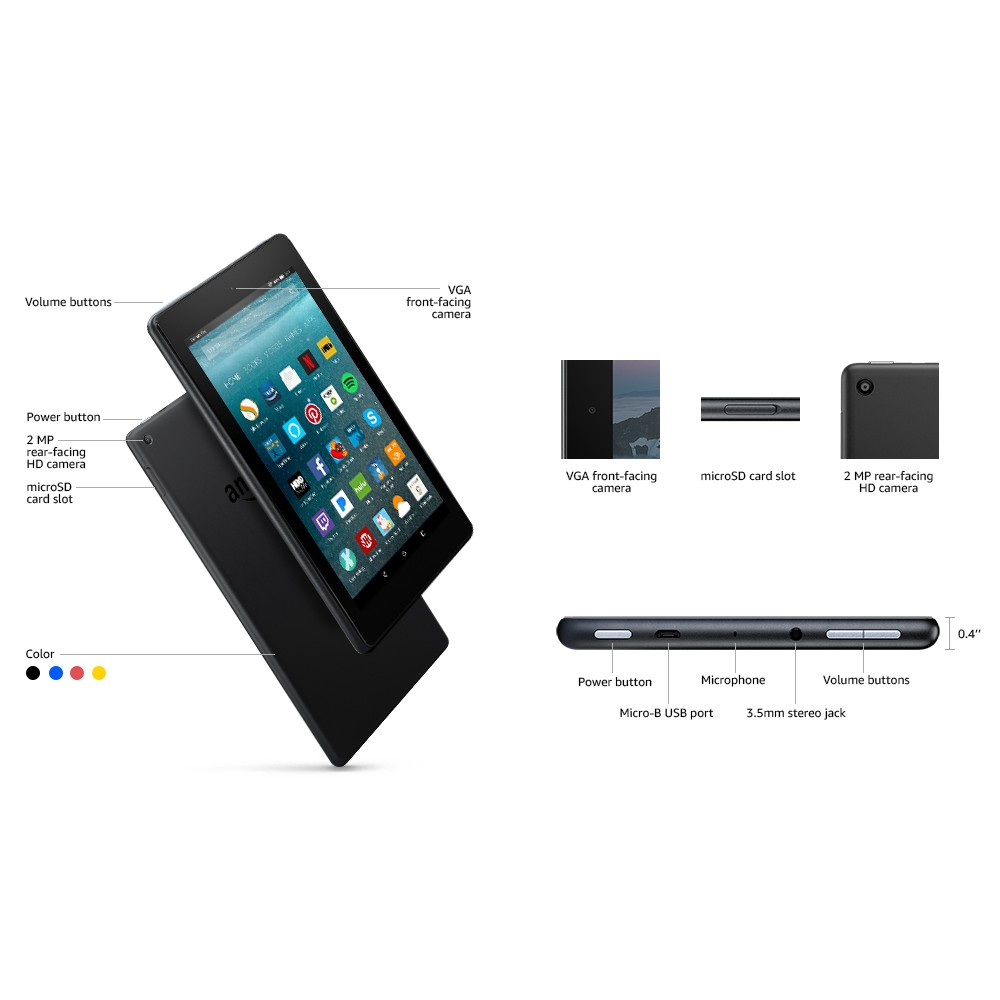 Amazon Fire 7 Tablet with Alexa (New, Unopened) | Shopee