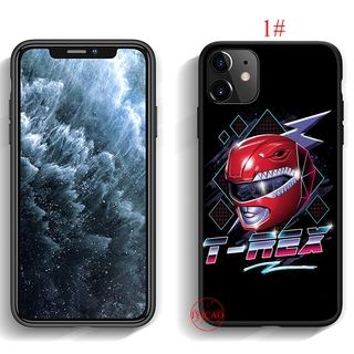 power rangers Silicone Case Soft Cover iPhone 12 Mini 11 Pro Max