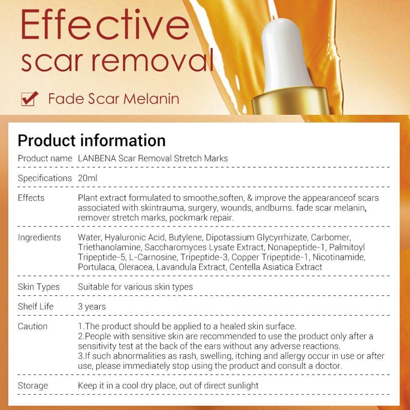 LANBENA Acne Scar Repair Serum Stretch Marks Remover Cream