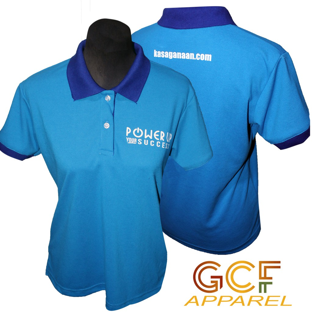 Customized Polo Shirt W Embroidered