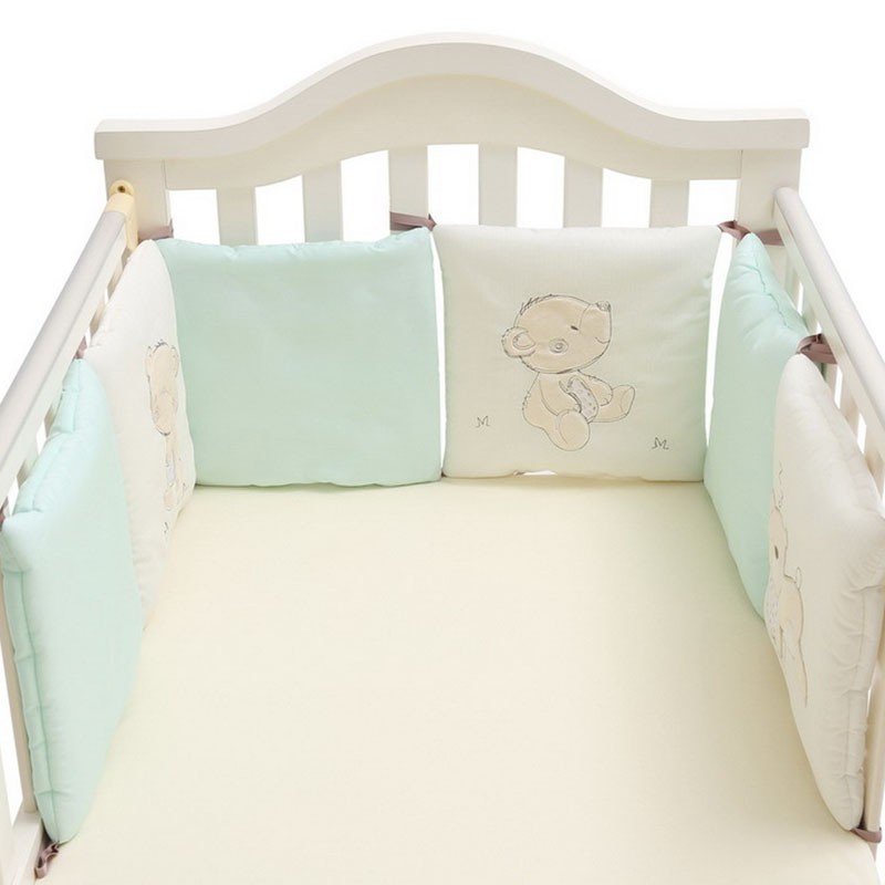 Linens N Things 2 Pc Set Boys Stars Stripes Beige Nursery Cot Crib Quilt Baby