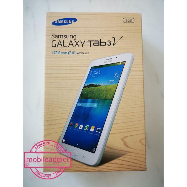 Samsung Galaxy Tab 3V NTC, 1 year warranty