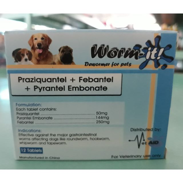 Worm It Dewormer For Pets Shopee Philippines