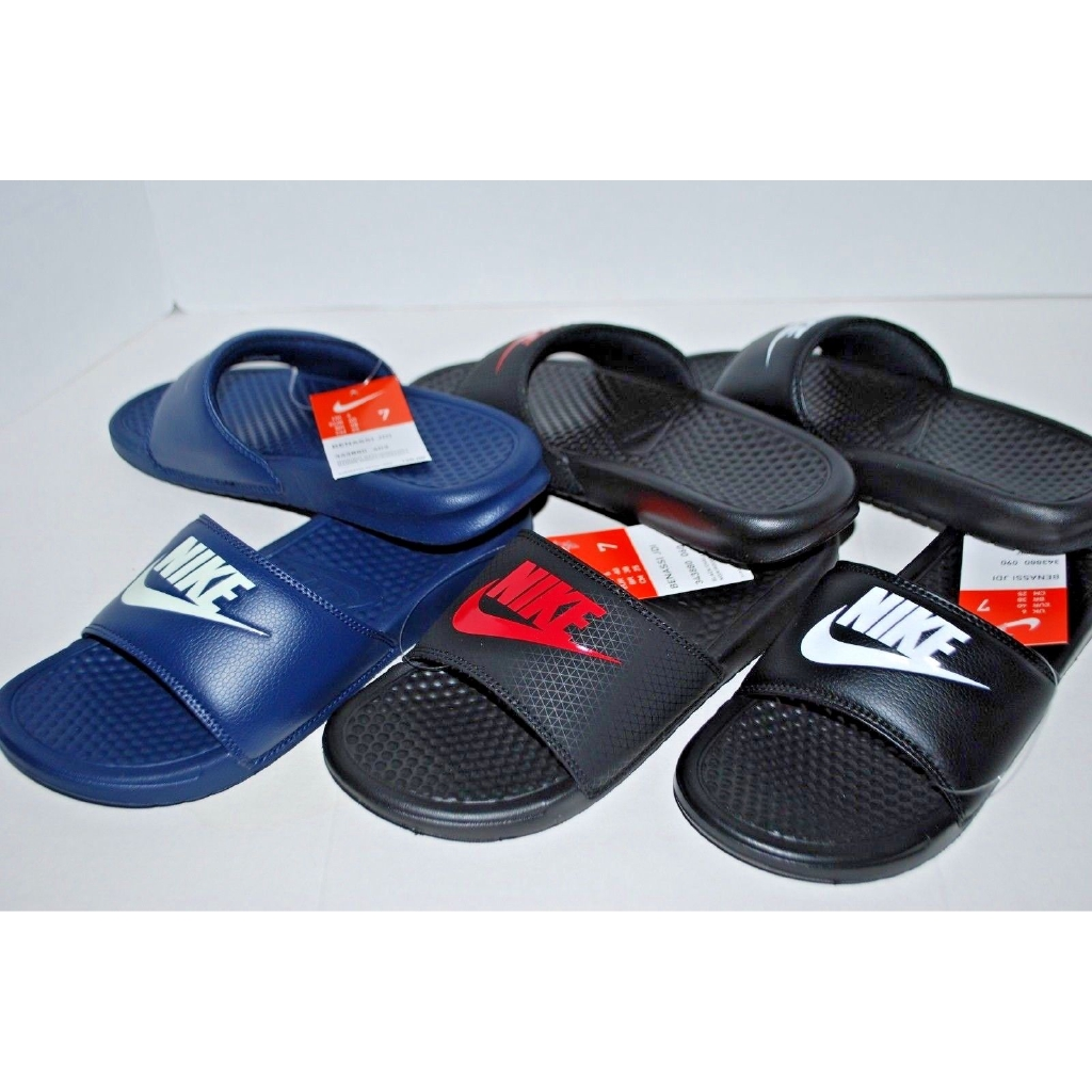 6b21bcca522a Nike Benassi Solarsoft NBA Men Sports Slides Sandal Slippers ...