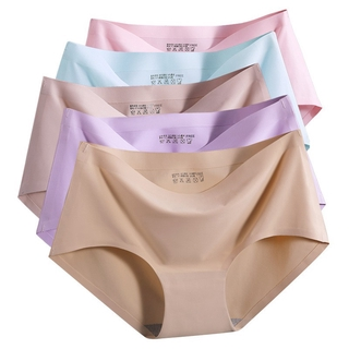 819ea9ff42f4 NEW Women Seamless Briefs Soft Breathable Underwear Panties | Shopee ...