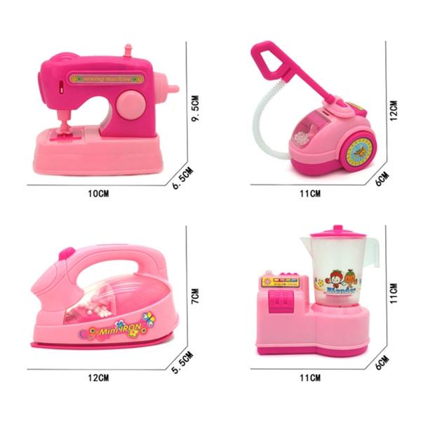 Amazingdeal Mini Simulation Electric Washing Machine Play Toy Makeup Brush Cleaner Gift