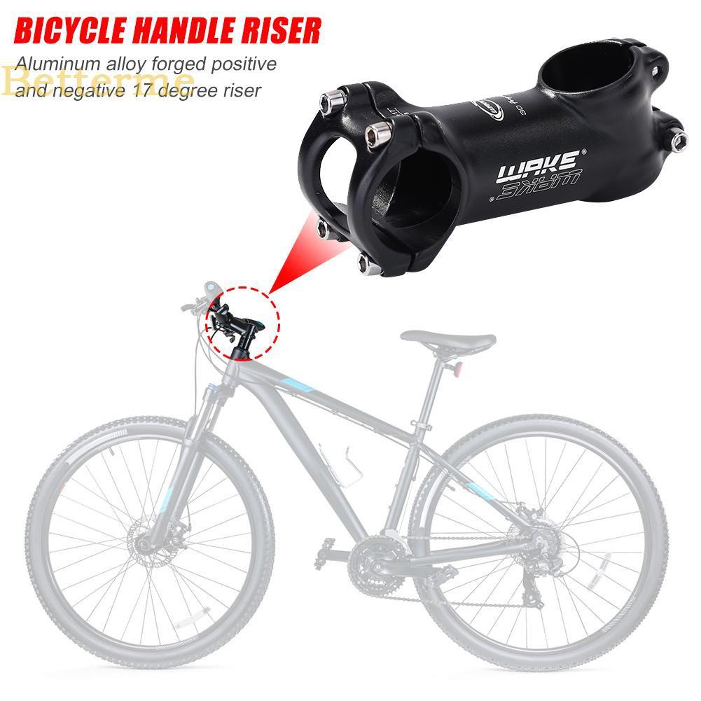 Alloy Bicycle Bike Stem 70mm 70 31.8 17 Degree High Riser