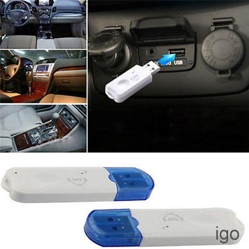 USB Bluetooth Stereo Audio Music Wireless Receiver Adapter For Car Speaker  ZDMX