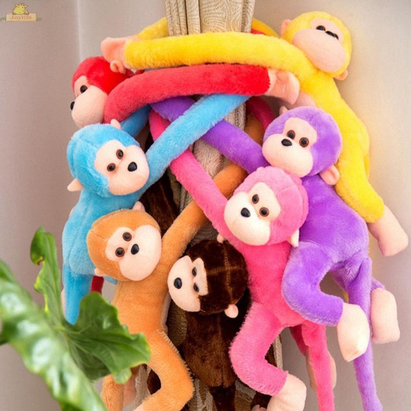 Baby Kids Soft Plush Toys Cute Colorful Long Arm Monkey Stuffed Animal Doll Gift