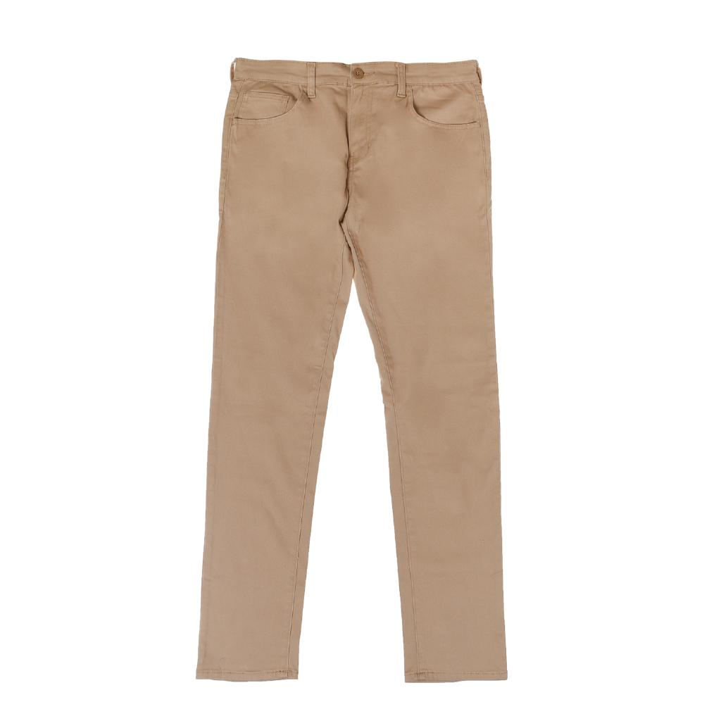 terrific value discount sale biggest discount Baleno Mens Skinny Twill Pants in Khaki
