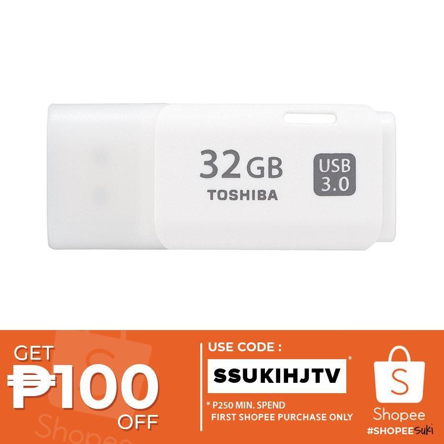 Toshiba Hayabusa Usb Flash Drive 32gb Shopee Philippines Disk 32 Gb Original