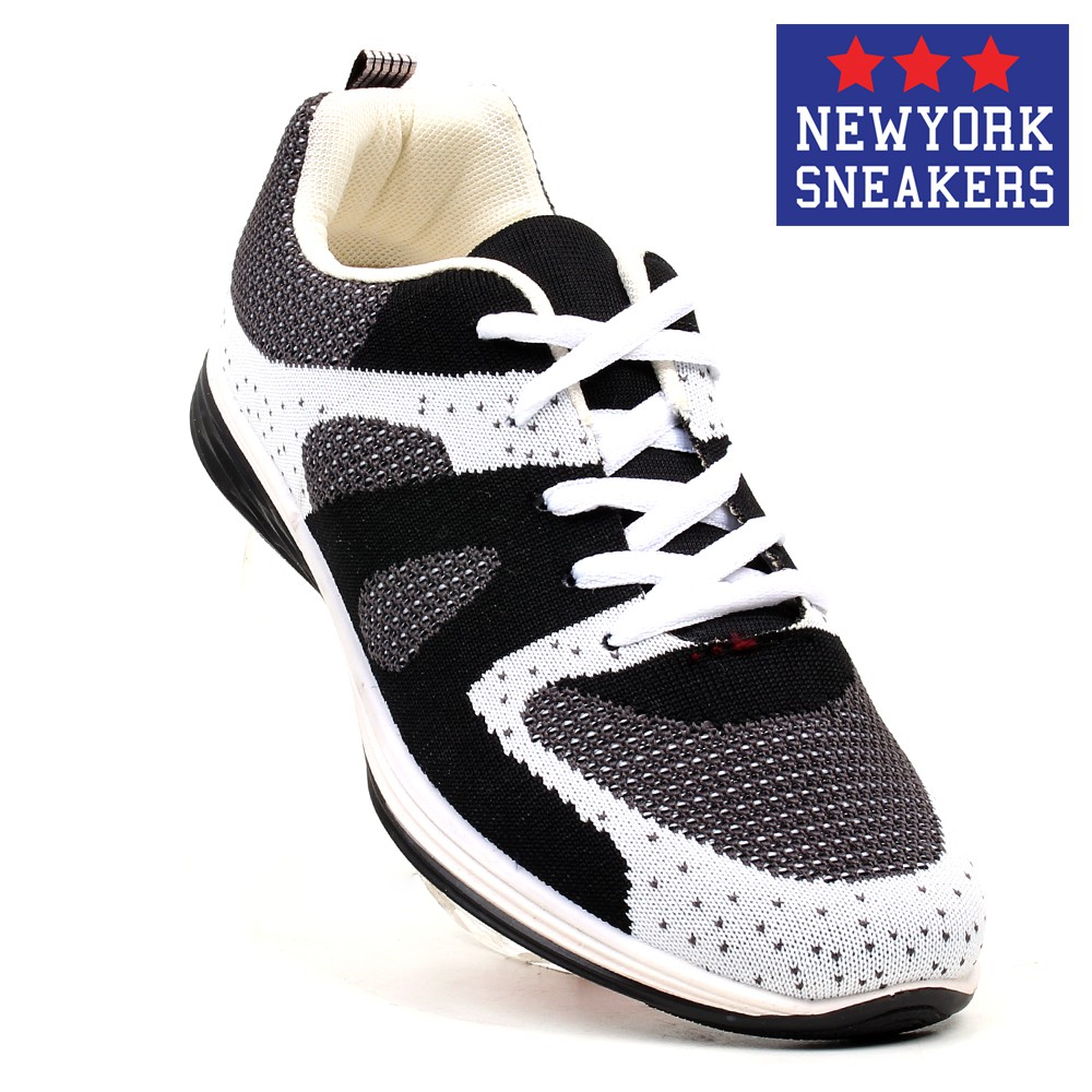 4c382672c New York Sneakers AL156 Rubber Shoes(WHITE BLACK)
