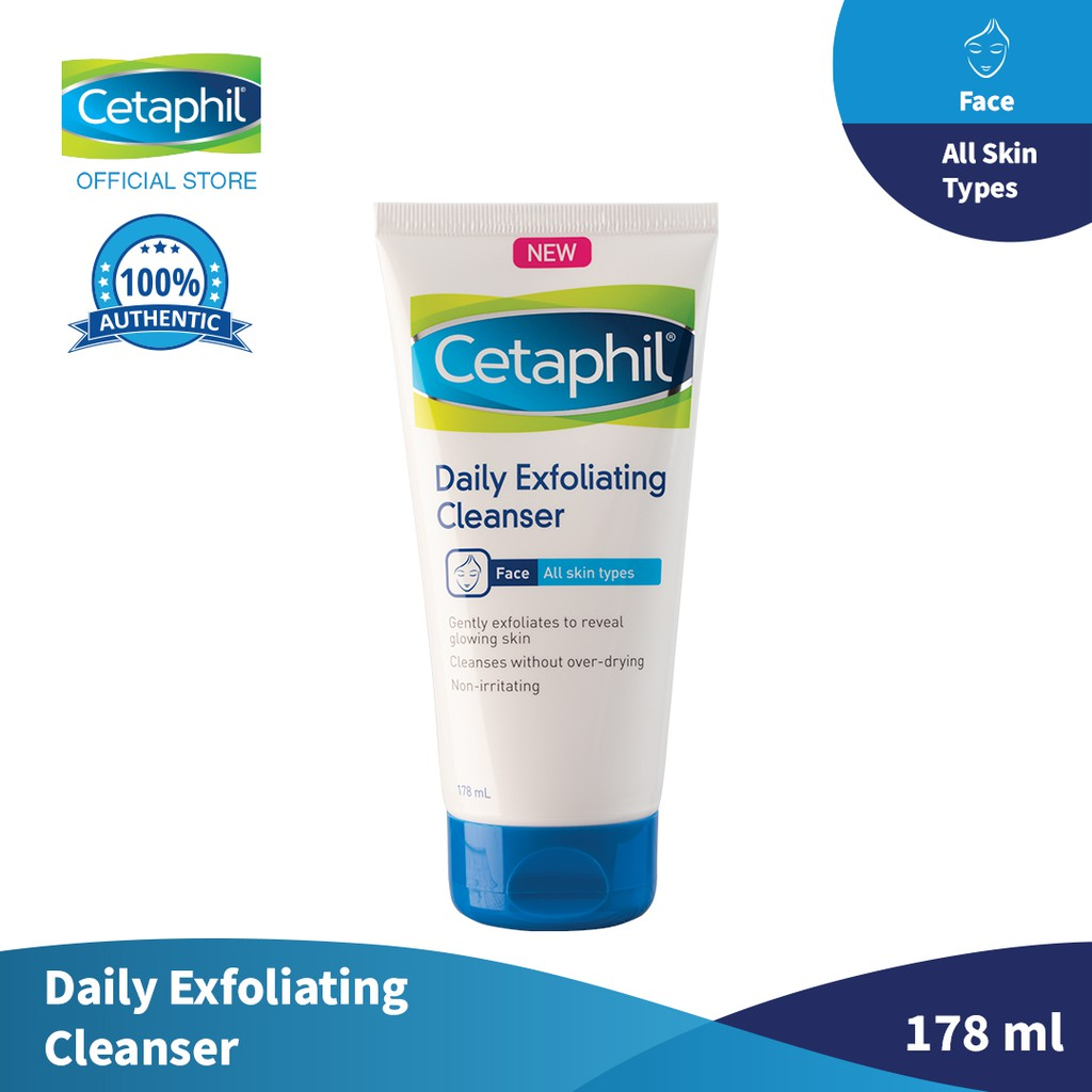 Cetaphil Daily Exfoliating Cleanser 178ml Shopee Philippines