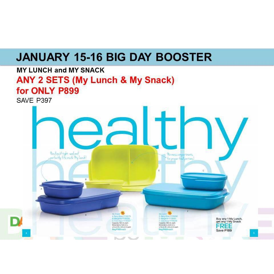 Tupperware My Lunch Divided Lunch Box ONLY