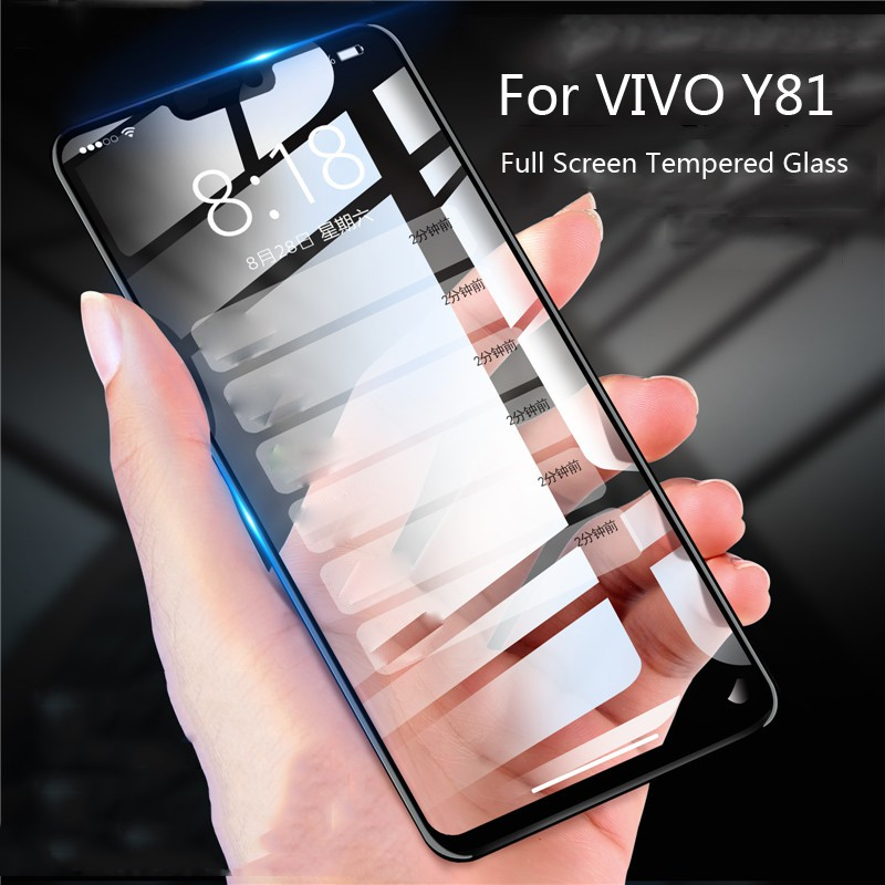 Tempered Glass For VIVO Y81 9H 2 5D Full Screen Protector