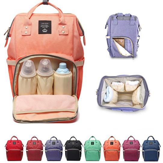 261b52fa0c Mummy Bag Maternity Nappy Diaper Bag Baby Travel Bagmint