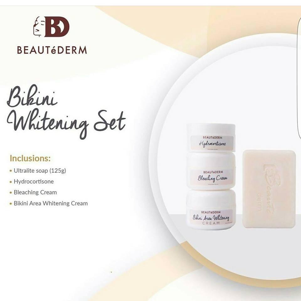Bikini whitening cream