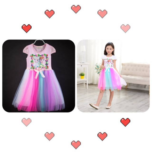 Frozen dress for kids 2-8yrs