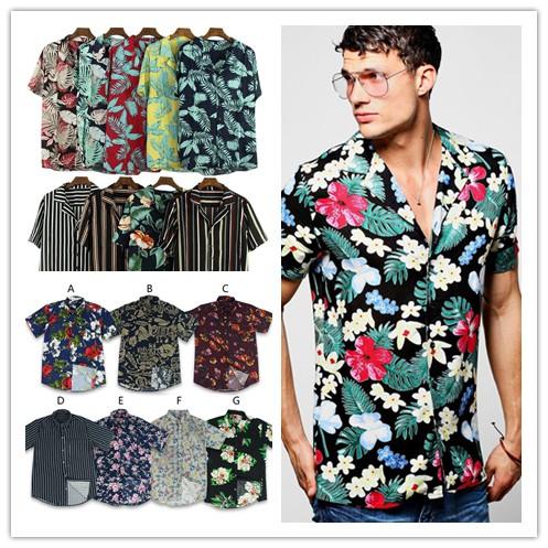 Bohemian Inspired Batik Polo Shirts Shopee Philippines