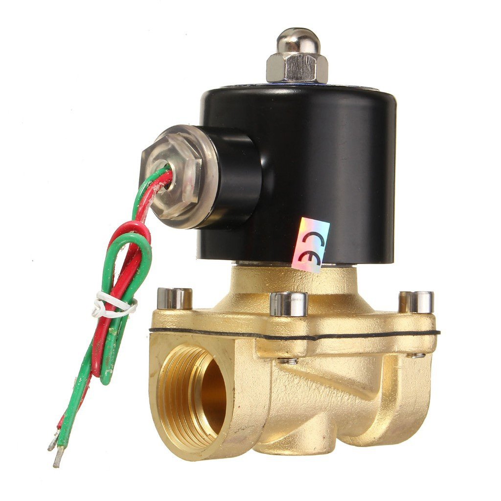 G1//4 Fast Response Direct-Acting Magnetic Aluminum Alloy Solenoid Regulator for Air Water Oil 220V AC Electrical Solenoid Water