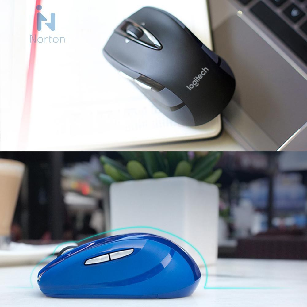 Logitech M545//M546 2.4G Wireless Mouse 1000DPI USB Optical Computer Gaming Mice