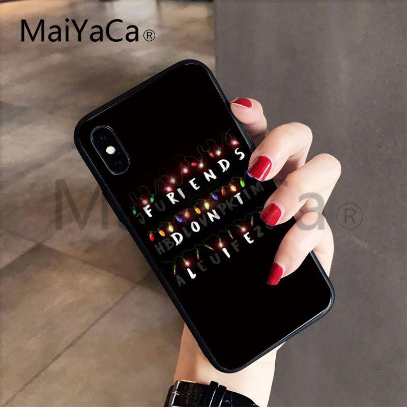 Stranger Things Wallpaper Unique Phone Case Iphone X 8 7 6 6s Plus 5s Xr