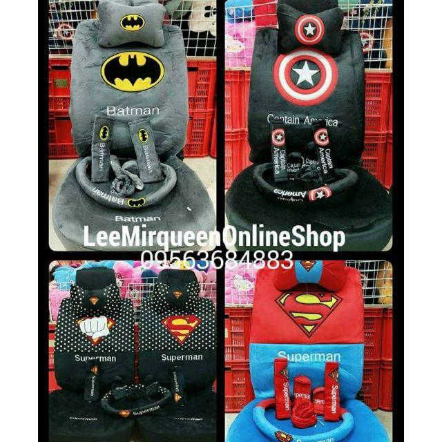 Superman Car Seat Cover And Carmat
