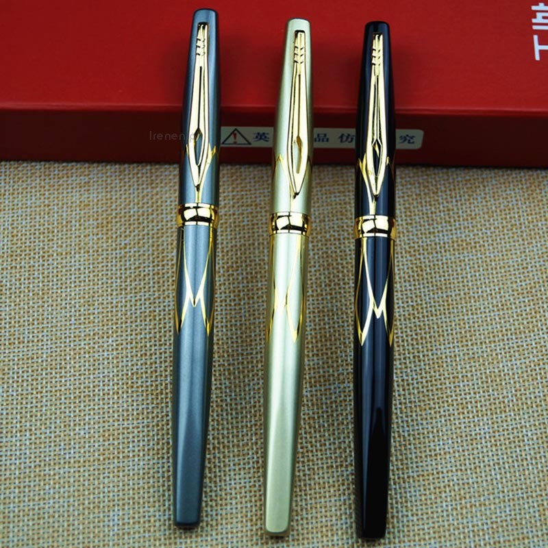 1pc metal fountain pen smoke fountain pen mini fountain pen 0.38mm Random