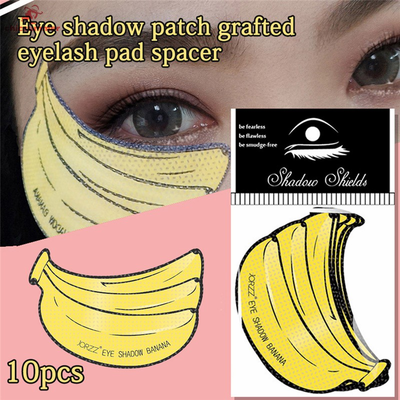 Cs 10pcs Banana Makeup Eyeshadow