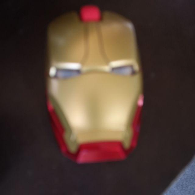 Iron Man Wireless Game Mouse Mice USB 2.4G 4D 1600 DPI For Laptop Netbook PC