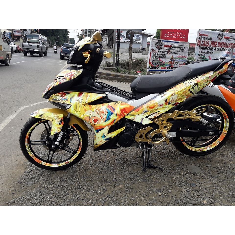 Decal sniper 150 shopee philippines