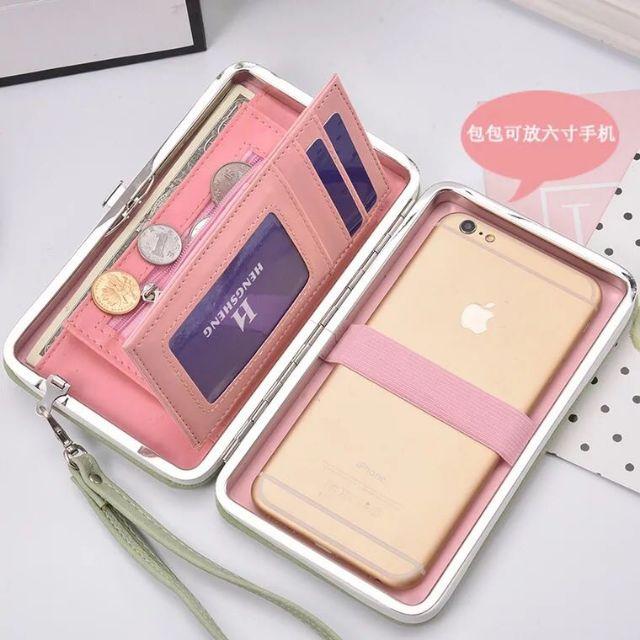 Korean phone wallet cp wallet handbag Cellphone wallet   Shopee Philippines