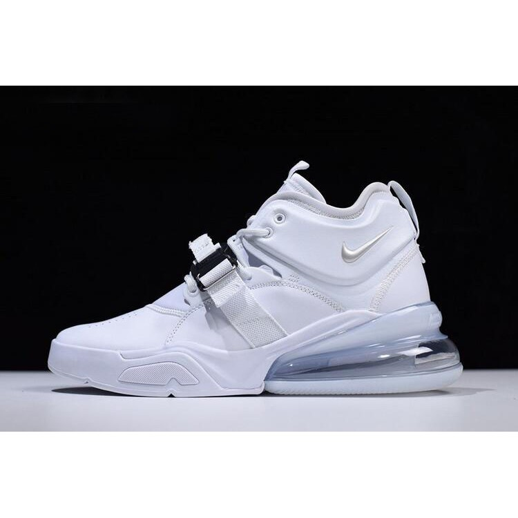 369bedc06d Nike Air Force 270 White/Pure Platinum oem | Shopee Philippines